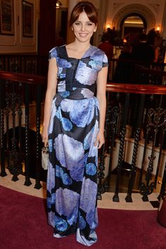 Pin for Later: Stars Celebrated the Best of British at the Evening Standard Theatre Awards Ophelia Lovibond