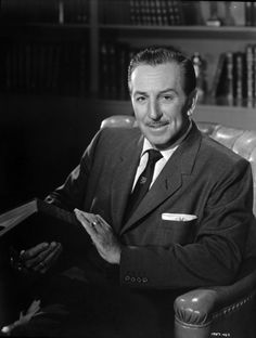 Walt Disney / Born: Walter Elias Disney, December 5, 1901 in Chicago, Illinois, USA / Died: December 15, 1966 (age 65) in Los Angeles, California, USA