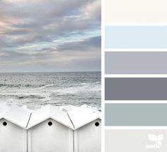 Seaside Hues | Design Seeds                                                                                                                                                                                 More