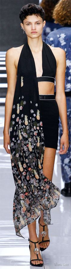 """Versus Versace Spring 2016 """"And the LORD said to Moses, """"Go to the people and consecrate them today and tomorrow. Have them wash their clothes."""" Exodus 19:10"""