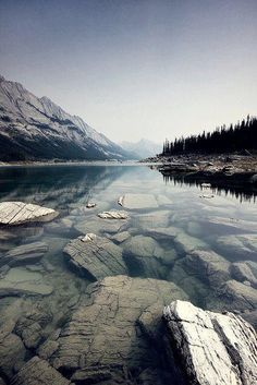 not sure where this is, reminds me of lake tahoe