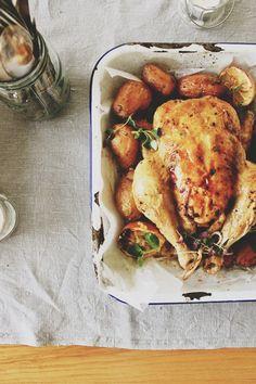 Comforting Roast Chicken