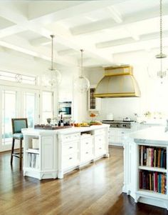 Where to start when remodeling a kitchen - Steel with Brass via house beautiful.jpg