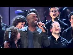 "Darius Rucker with mentally or physically ""challenged"" young adults and teens........""Music from the Heart"""
