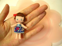 Sew Cute Felt Doll