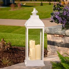 The Smart Living Avalon Triple LED Lantern is a wonderful complement to any outdoor or indoor setting, whether as a table centerpiece or ambient side. Tall Lanterns, Led Lantern, Candle Lanterns, Outdoor Lantern, Deco Led, Led Candles, Coastal Decor, A Table, Candle Holders