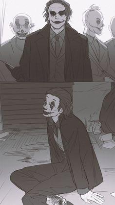 Joaquin Phoenix, Casa Anime, Joker Dc Comics, Joker Makeup, Heath Ledger Joker, Cute Couple Art, Gotham Batman, Joker Art, Cartoons