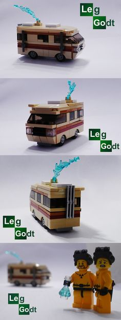VW T1 Cooking Van Breaking Bad Edition #Eurobricks #PimpMyCamper