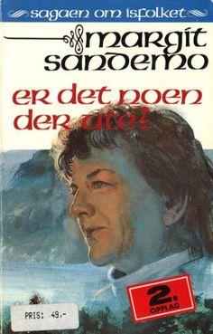 """""""Er det noen der ute?"""" av Margit Sandemo Reading, Books, Libros, Book, Reading Books, Book Illustrations, Libri"""