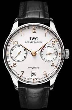 IWC Portugieser 7 Day Automatic Stainless Steel Case