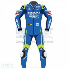 Aleix Espargaro wore the especially designed leathers in MotoGP 2016 racing suit when he race with The official Suzuki Team riders  Regular Price = $899.00 Special Price  = $719.20  BUY NOW https://www.leathercollection.com/en-we/aleix-espargaro-suzuki-2016-motogp-racing-suit.html