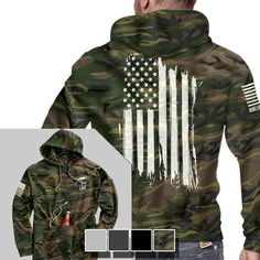 Tailgate Hoodie - America - Full Back - Nine Line Apparel Nine Line Apparel, Moda Nike, Mode Man, Grunt Style, Tactical Clothing, Tactical Gear, Tactical Hoodie, Camo Hoodie, Mode Inspiration