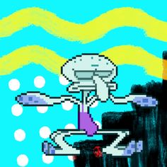 If you dont have a dancing Squidward in every board you have no heart. Or, you just didnt see it :P
