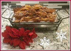 Honey bow tie Christmas cookie-DishignwithDiane.com