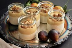 Verrines au trio à l'érable Mini Desserts, Desserts In A Glass, Dessert In A Jar, Dessert Simple, Cold Desserts, Easy Desserts, Mousse Dessert, Desert Recipes, Quebec