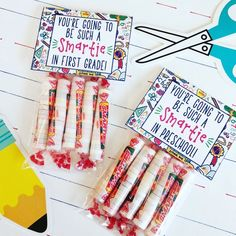 You're going to be such a SMARTIE! Back to School Student Gift. Instant DIgital Download. Smartie Ba Welcome To Preschool, Preschool Gifts, Candy Birthday Cards, Back To School Gifts For Kids, Classroom Themes, Google Classroom, Valentine Day Crafts, Student Gifts, Custom Cards