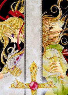 Kamikaze Kaito Jeanne, by Arina Tanemura. 7 volumes.