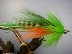 This effective streamer pattern is also a versatile pattern for a number of other species including trout, bass, steelhead, salmon, pike and more. Play around with colors and have an easy to cast f...
