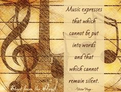 Music quote via www.Facebook.com/StartFromTheHeart