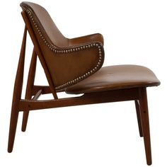 Leather Lounge Chair by Kofoed Larsen | From a unique collection of antique and modern lounge chairs at http://www.1stdibs.com/furniture/seating/lounge-chairs/