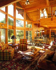 Lindal Cedar Homes: worldwide manufacturer of post and beam homes, solid cedar homes, custom log homes, sunrooms and room additions. Custom Home Designs, Custom Homes, Rustic Sunroom, Lindal Cedar Homes, Mountain Homes, Build Your Dream Home, Home Additions, Log Homes, Deco