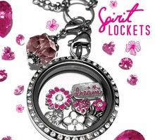 Spirit Lockets - personalized locket jewelry!  FREE to join, NO website fees, 35% commission! www. spiritlockets.com/#heatherevans