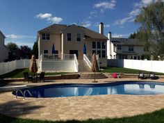 Beautiful Pavers Pool Deck