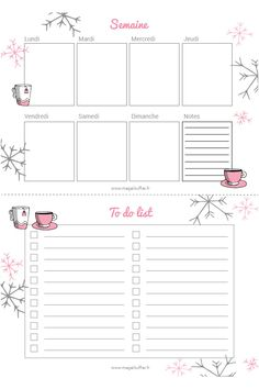 Blog Planner Printable, Planner Template, Planner Pages, Printables, Bullet Journal Books, Bullet Journal Ideas Pages, Bullet Journal Inspiration, To Do Planner, Life Planner