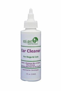 Epi-Pet Ear Cleaner for Pets, 4-Ounce - http://www.thepuppy.org/epi-pet-ear-cleaner-for-pets-4-ounce/
