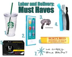 Must Haves: Labor and Delivery Essentials