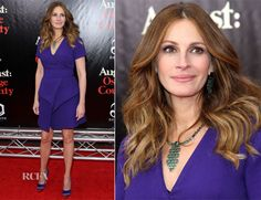 Julia Roberts In Proenza Schouler - 'August: Osage County' New York Premiere - Red Carpet Fashion Awards Celebrity Red Carpet, Celebrity Style, Julia Roberts Style, August Osage, Red Carpet Looks, Celebs, Celebrities, Red Carpet Fashion, Proenza Schouler