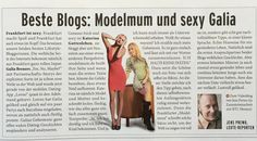Journal Frankfurt March 2015: Journal Frankfurt March 2015 – Thank you dear Jens Prewo and Journal Frankfurt for the awesome article! ♥ — with Katerina Gottesleben and Jens Prewo.