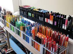 shauna lee lange's alexandria studio writing implements