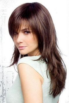 Medium Layered Hairstyle - The latests trends in women's hairstyles and beauty