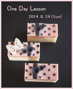 Polka-Dot Soap の画像|横浜・元町中華街駅 手作り石けん教室 With Flowers