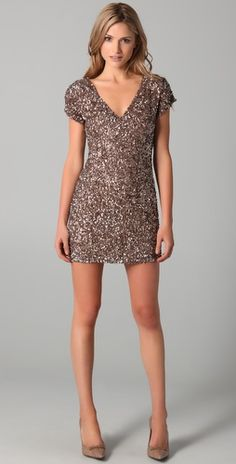 I want this dress so badly. Parker cluster v neck dress. love.