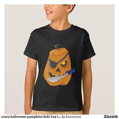 Shop scary halloween pumpkins kids boy t-shirt created by bannouna. Scary Halloween Pumpkins, Halloween Kids, Orange T Shirts, Personalized Stationery, Boys T Shirts, Kids Boys, Black Tops, Mens Tops, Shopping