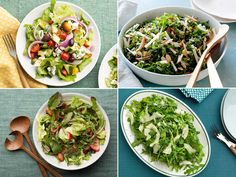 Leafy greens and everything that join them are anything but punishment. Next time you're on the hunt for a side dish, think of these glorious leafy side salads.