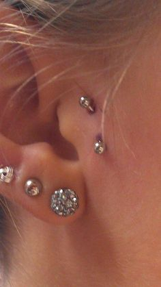 my new surface piercing