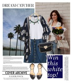 """""""Win a White Shein Top! Contest in My Group!"""" by dora04 ❤ liked on Polyvore featuring Relaxfeel and Erickson Beamon"""