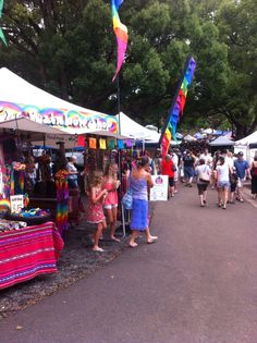 Bangalow Markets Byron Bay, Rivers, Wonderful Time, Got Married, Beautiful Places, Road Trip, Australia, Rainbow, Beach