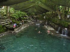 Ardent Hot Springs in Camiguin Islands Philippines