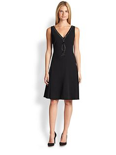 Ralph Lauren Black Label - Palladia Flared Dress - Saks.com