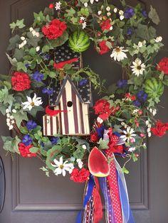4th of July/Summer Wreath