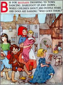 Soloillustratori: E.W.B. Vintage Children's Books, Vintage Postcards, Vintage Images, Alphabet Book, Animal Alphabet, Vintage Art Prints, Vintage Lettering, Nursery Rhymes Poems, Erte Art