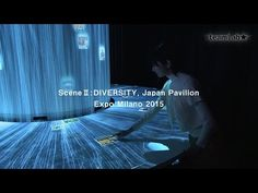 Teamlab's immersive installations infill the japan pavilion for expo milan 2015 | DIVERSITY |