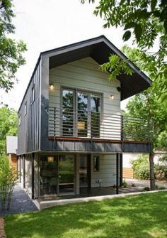 Metal modern house