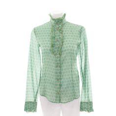 Verspielte Bluse von Patrizia Pepe in Grün Gr. IT 42 DE 36 - feminin und stylisch