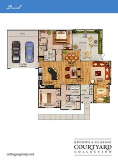 perfect floor plan now all we need is a small plot of land and its a dream comrade true