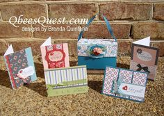 Check out this amazing boxed set by Brenda Quintana!    She even shared a beautiful tutorial on her blog.  :)  Thank you, Brenda!